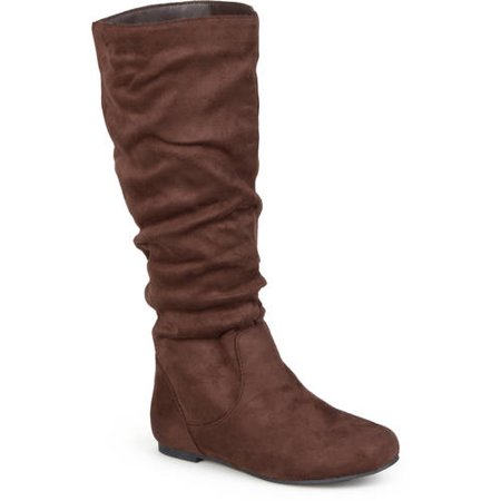 Image of Brinley Co. Women's Slouchy Microsuede Boots