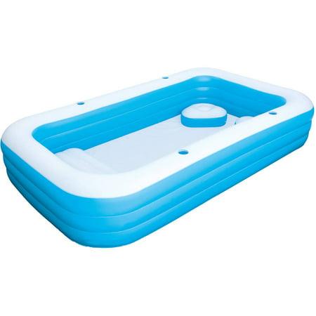 H2ogo 10 39 x 72 x 22 family fun pool - Intex swim center family lounge pool blue ...