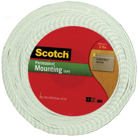 3M Scotch-Mount Urethane Foam Tape - 3/4