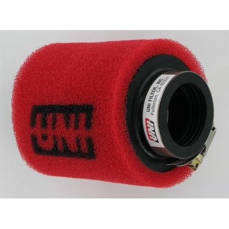 2 Stage Straight Pod Filter 38Mm I D  X 102Mm Length  Mount Store Black Vehicle In57mm 112 Up4200 114X3straight 102Mm Id 58Mm In38mm 70Mm Up4112st    By Uni Filter