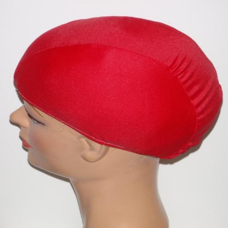 Extra Large Red Lycra Swim Cap (XL)