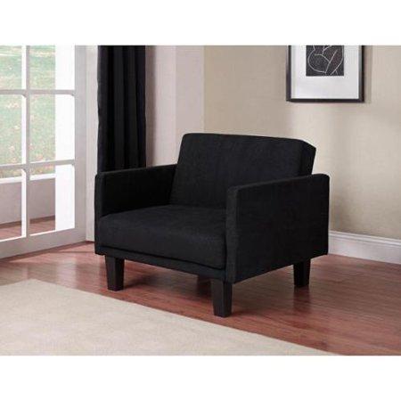 Dhp Metro Futon Chair Black Walmart Com