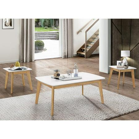 Walker Edison Retro Modern Coffee Table