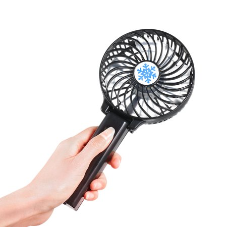 Portable USB 18650 Battery Rechargeable Fan Ventilation Foldable Air Conditioning Fans Foldable Cooler Mini Operated Hand Held Cooling Fan for Outdoor Home - Battery Operated Hand Held Fans