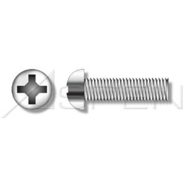 Aspen Fasteners No.6-32 x 0.5 in. Round Phillips Machine Screws - 18-8 Stainless Steel - 18000 Pieces