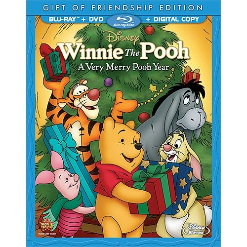 Winnie The Pooh: A Very Merry Pooh Year (Gift Of Friendship Edition) (Blu-ray + DVD + Digital Copy) (Full Frame)