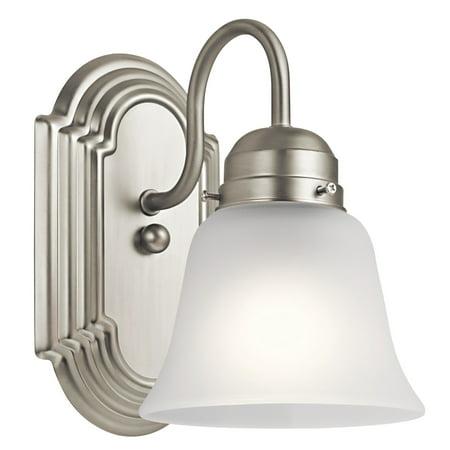 Kichler Lighting Glass Sconce - Kichler 5334 Wall Sconce