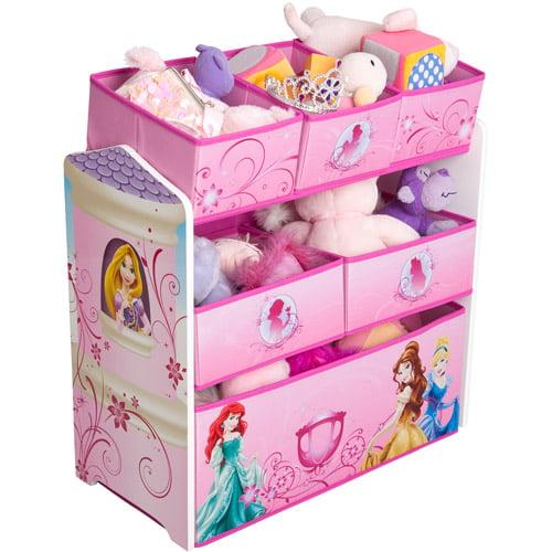 Delta Children Disney Princess Multi-Bin Toy Organizer by Delta Enterprise