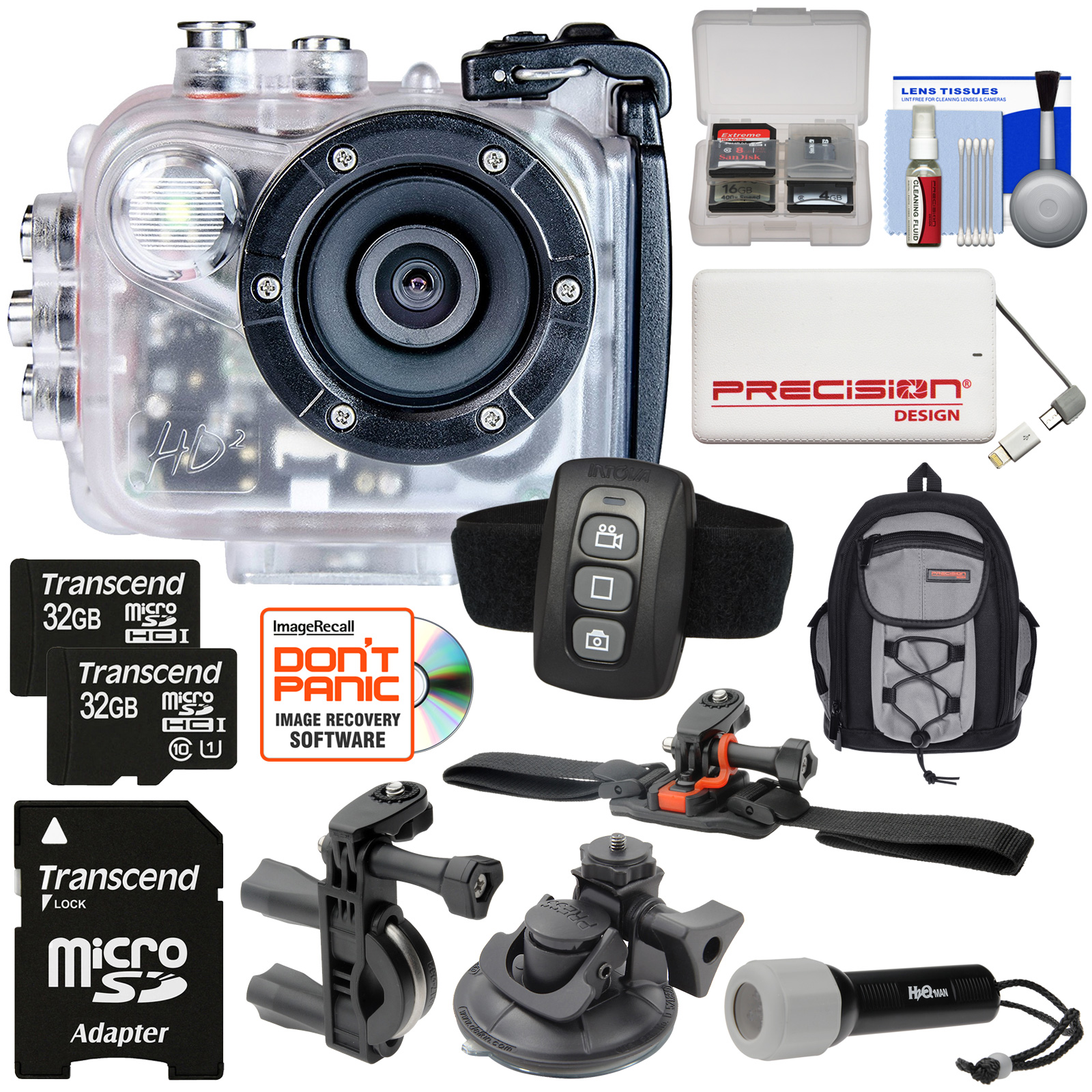 Intova HD2 Marine Grade HD Video Action Camera Camcorder ...