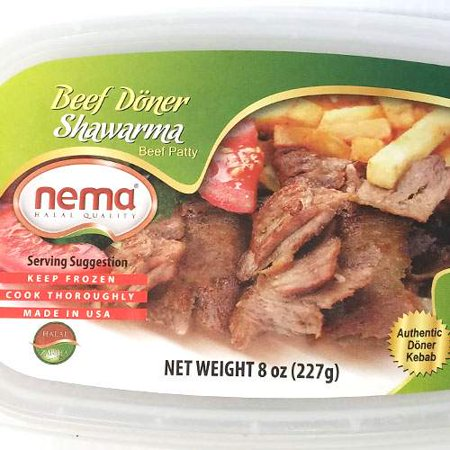 Nema Turkish Sliced Beef Gyro - 8oz