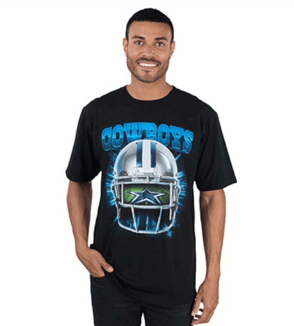 Dallas Cowboys Men's Black Helmet Vision