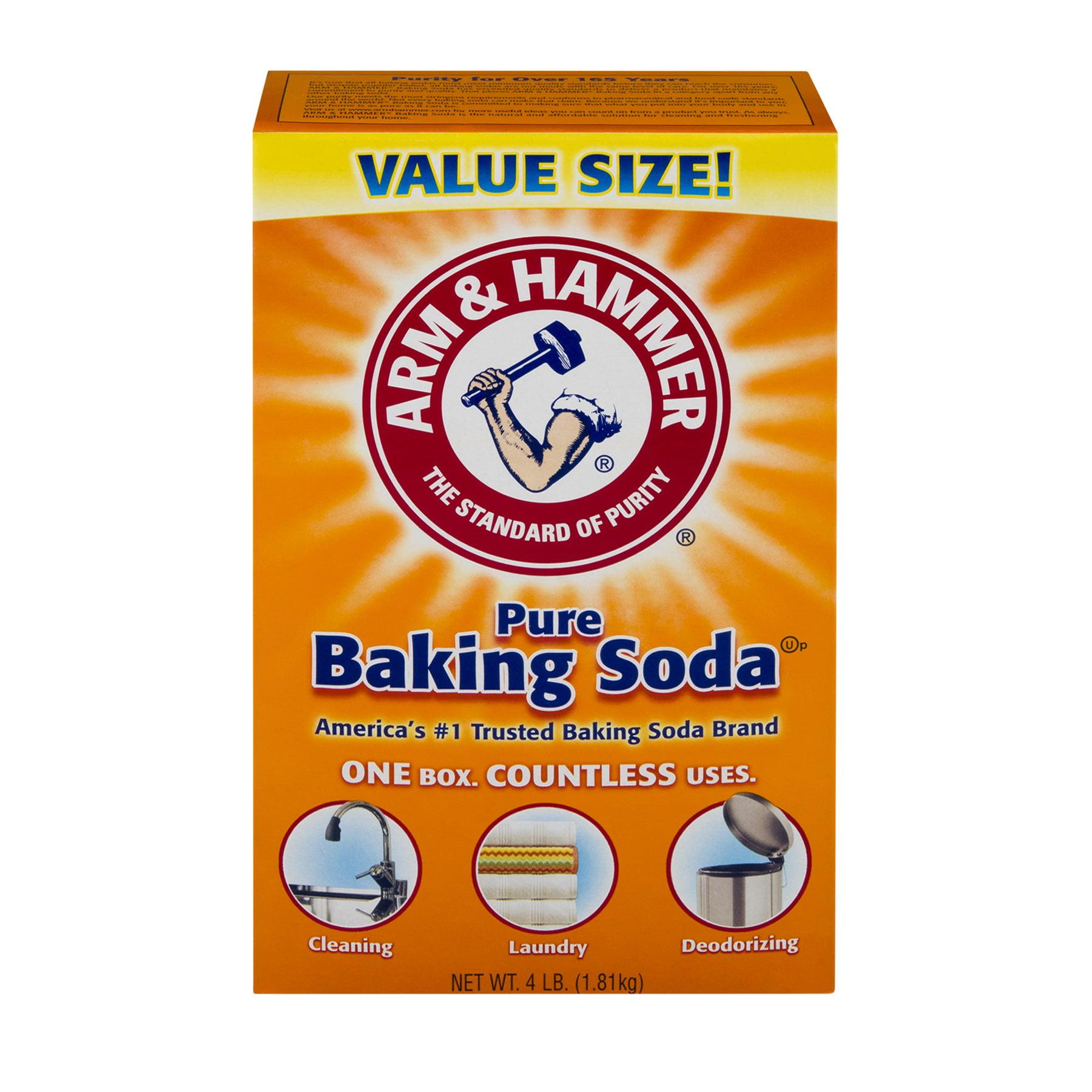 Arm & Hammer Pure Baking Soda, 4.0 LB