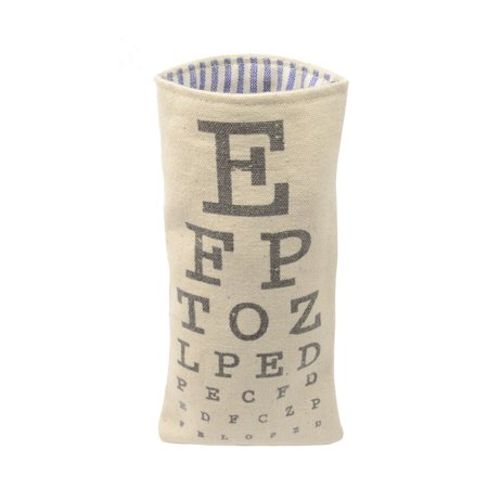 Eye Doctor Chart Eyeglasses Pouch Glasses Holder Sunglasses Spectacles Soft (Cartier Spectacle Frames Prices)