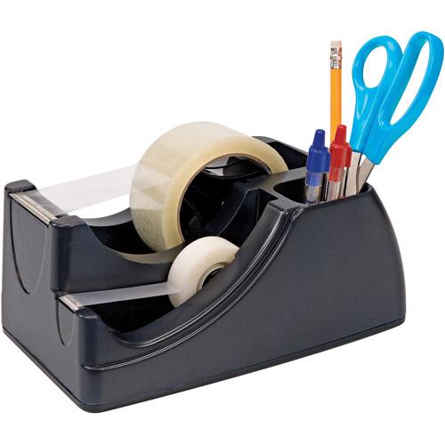 Officemate Multi-Purpose Tape Dispenser and Desk Organizer