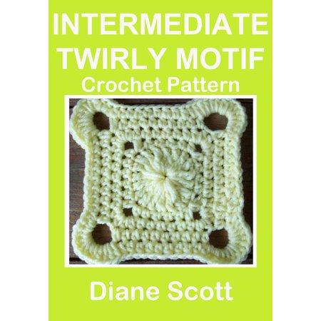 Intermediate Twirly Motif: Crochet Pattern - - Twirly Tiers