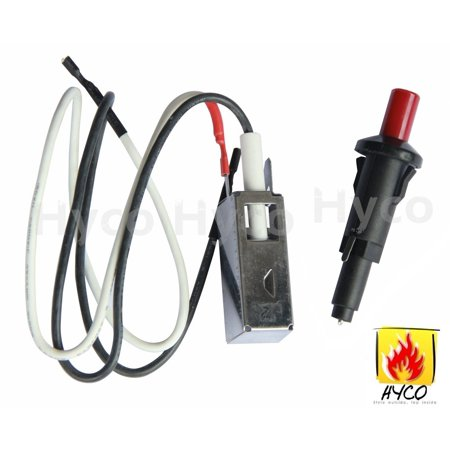 Hyco BBQ Replacement Fit Push Button Grill Igniter Kit for Weber