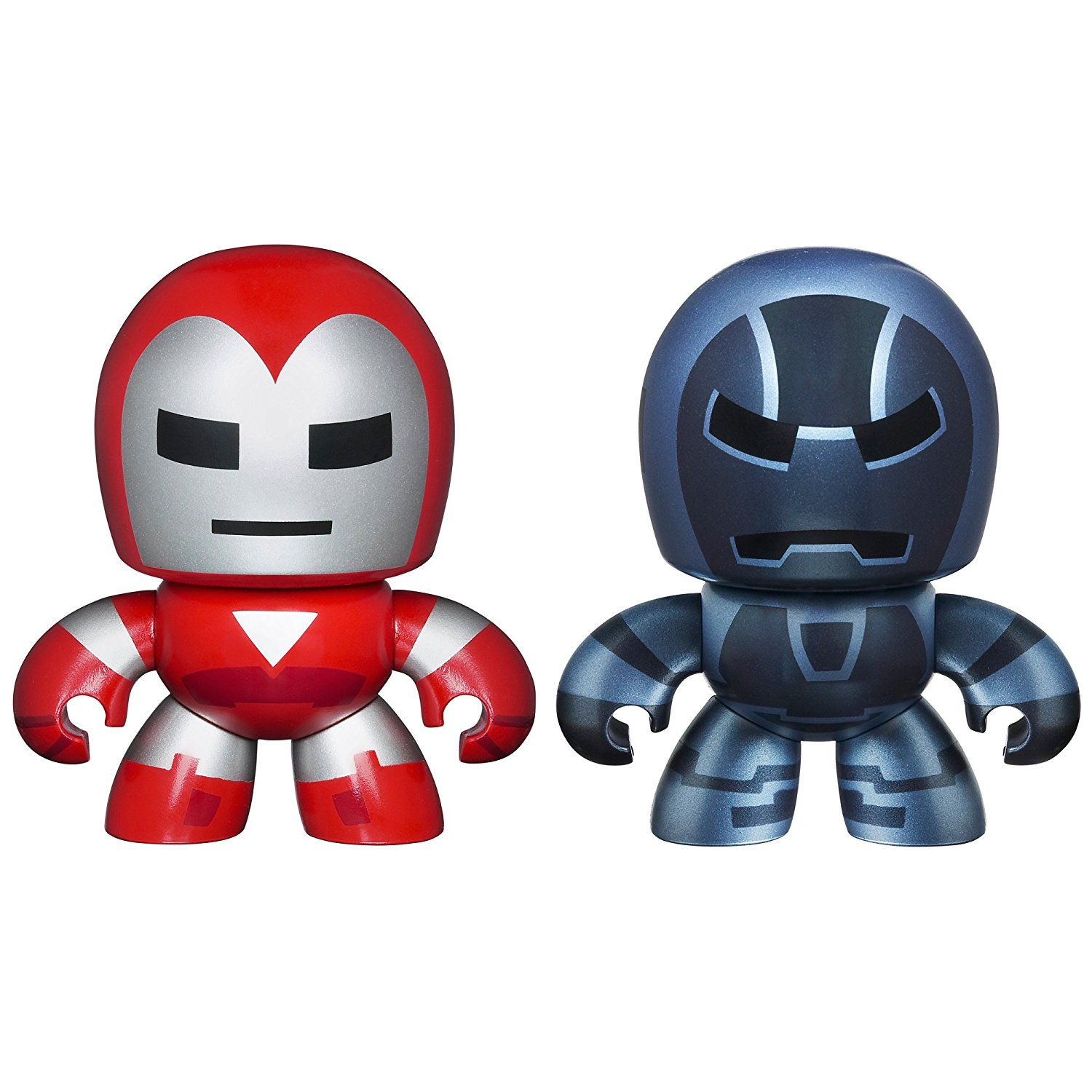 Marvel Avengers Mini Mighty Muggs 2 pack Silver Centurion vs. Iron Monger, Your tiny, spunky, chunky SILVER CENTURION figure is ready to do.., By Hasbro Ship from US