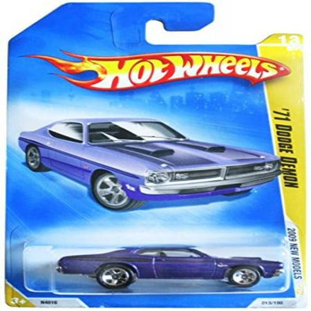 Hot Wheels 2009 013 71 1971 Purple Dodge Demon New Models 1 64 Scale