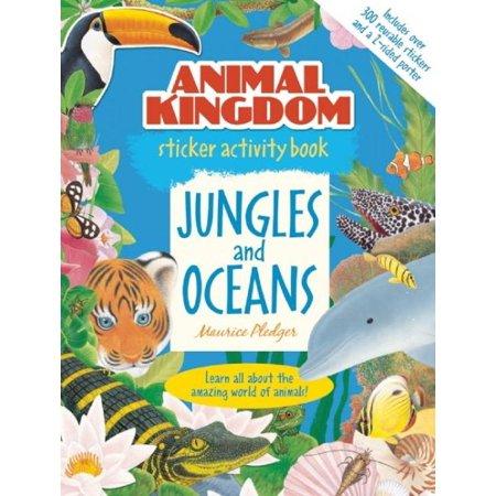 Animal Kingdom Sticker Activity Book