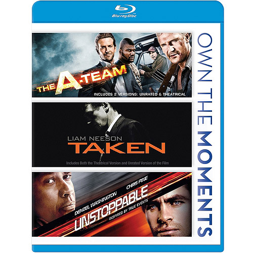 The A-Team / Taken / Unstoppable (Blu-ray) (Widescreen)