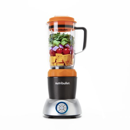 Nutribullet Select Blender with Versatile controls, Orange, 1000 watts, Cold or Hot foods