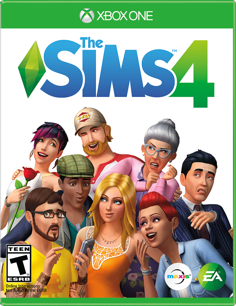 The SIMS 4, Electronic Arts, Xbox One, 014633738155 by Electronic Arts