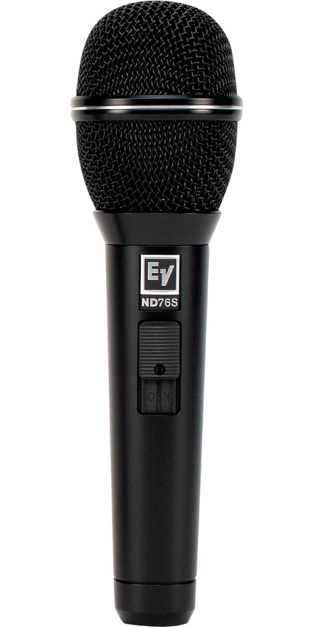 Electro-Voice ND76S Dynamic Cardioid Vocal Microphone with On Off Switch by Electro-Voice