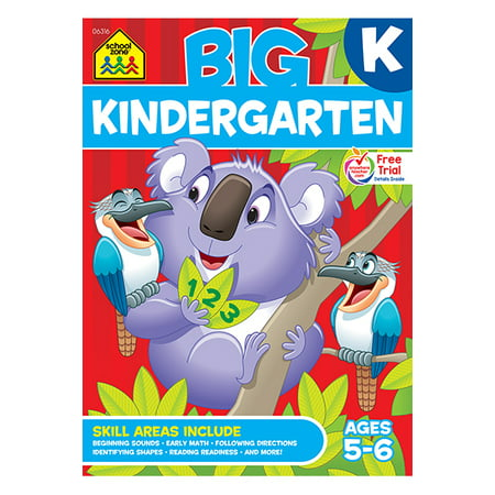 Big Kindergarten Workbook (Teaching Reading Sourcebook For Kindergarten Through Eighth Grade)