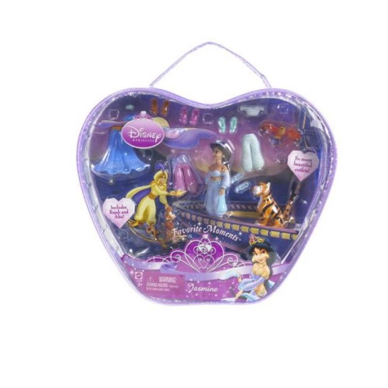 Disney Precious Princess Jasmine Sparkle Bag Doll Set