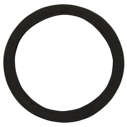 Custom Accessories Neoprene Stretch Steering Wheel Cover, Black