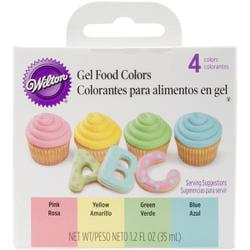 Bulk Buy: Wilton Gel Food Coloring Set 4/Pkg-Easter (6-Pack ...