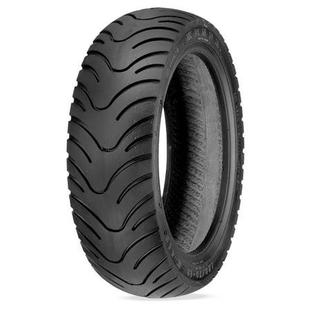 Kenda 044131018B1 K413 Performance Scooter Front/Rear Tire - 130/90-10 (Front / Rear Scooter Tire)