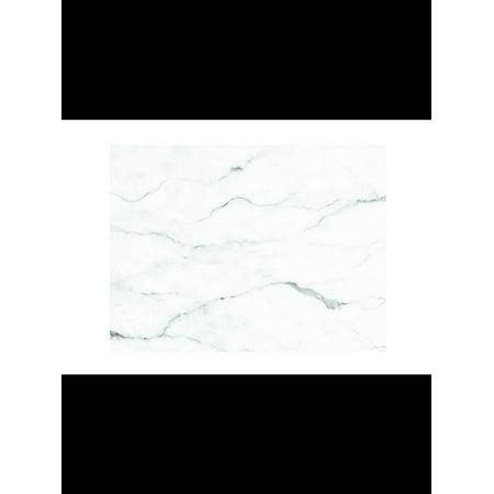 Set of 50 Paper Placemats Carrara Marble11