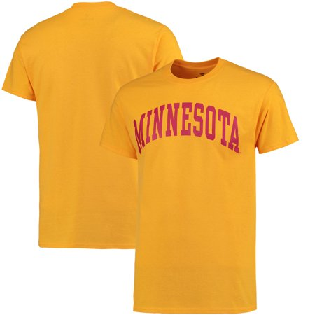 Minnesota Golden Gophers Acrylic Football - Minnesota Golden Gophers Fanatics Branded Basic Arch T-Shirt - Gold