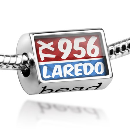 Bead 956 Laredo, TX red/blue Charm Fits All European - Party City In Laredo Tx