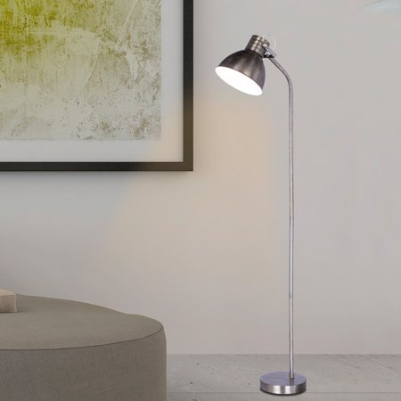Rust Wall Lamp - Martin Richard W-1541 66.5 in. Metal Floor Lamp - Rust Brushed Steel