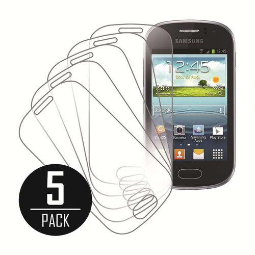 Samsung Galaxy Fame, Screen Protectors, 5-Pack, Clear
