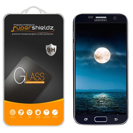 [1-Pack] Supershieldz for Samsung Galaxy S7 Tempered Glass Screen Protector, Anti-Scratch, Anti-Fingerprint, Bubble
