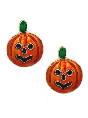f14cb9f5c Product Image cocojewelry Small Pumpkin Stud Post Earrings Halloween Jack O  Lantern Jewelry. Coco Jewelry