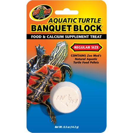 AQUATIC TURTLE BANQUET BLOCK (Turtle Sulfa Block)