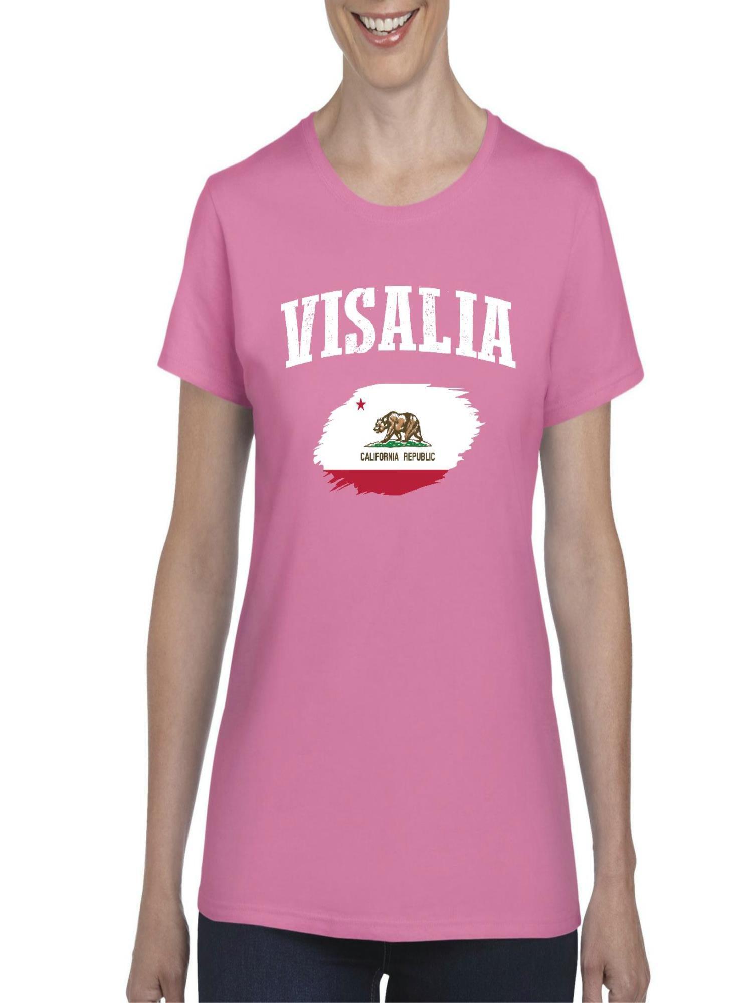 Normal Is Boring Visalia California Women Shirts T Shirt Tee