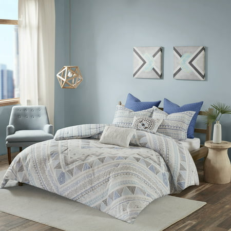 Home Essence Apartment Sydney 7 Piece Cotton Reversible Comforter Set