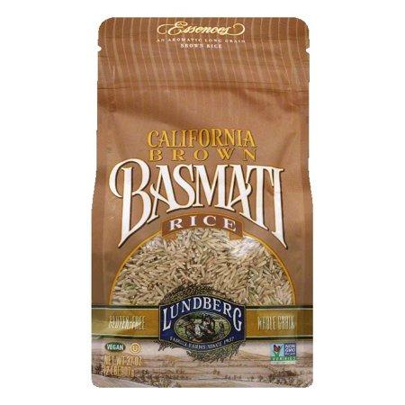 Lundberg Gluten Free Rice Eco Farmed California Basmati Brown  32 Oz  Pack Of 6