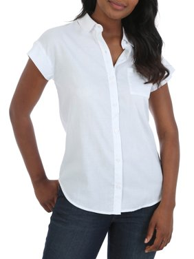 6c7b87ee Product Image Women's Short Sleeve Woven Shirt