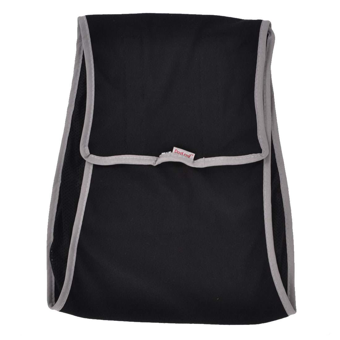 Black Gray Detachable Closure Adjustable Pet Dog Yorkie Waist Pants Size XL