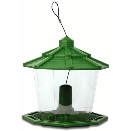 Pennington Ecozebo Wild Bird Feeder, 7 Pound Seed Capacity ()