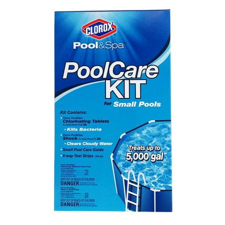 Pool Chemical Kit - Clorox Pool&Spa Small Pool Care Kit