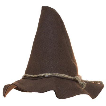 Brown Scarecrow Hat With Rope Band - Scarecrow Hat