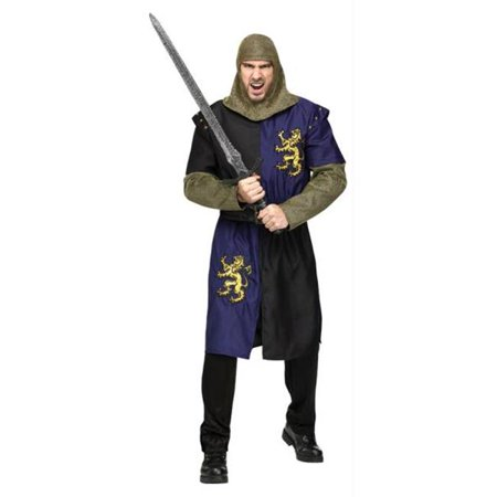 Costumes For All Occasions FW131274 Renaissance Knight Adlt Os - Naruto Cosplay For Sale