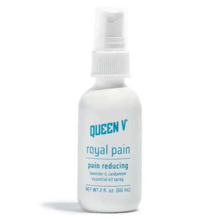 Queen V Royal Pain Pain-Reducing Essential Oil Spray 2 Oz (Feminine Owl)